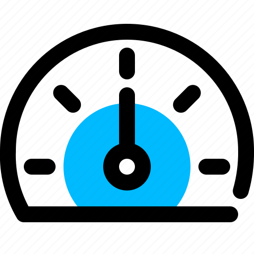bandwidth, gauge, meter, performance, speedometer icon