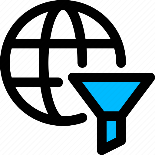 filter, global, internet, web, website icon