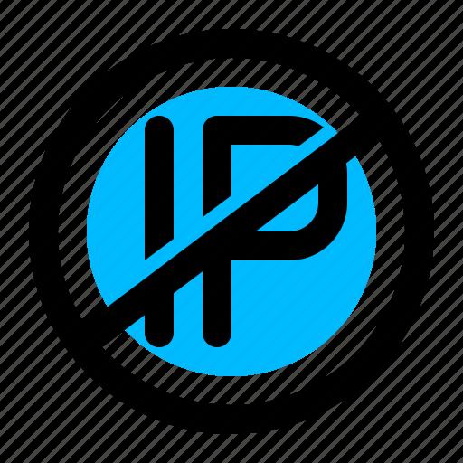 ban, block, blocker, deny, ip icon