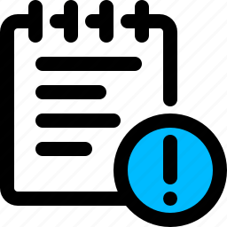 crash, error, file, log, report icon