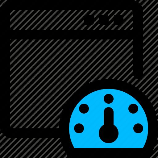 optimization, page, seo, website icon