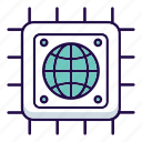 cloud, database, hosting, internet, media, server, storage icon