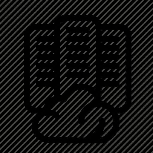 Center, cloud, data, server icon - Download on Iconfinder