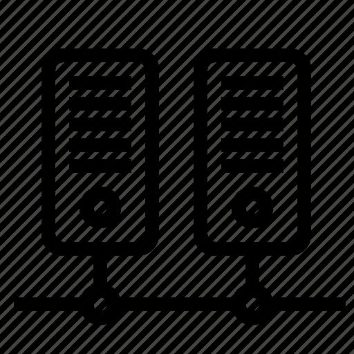 Center, data, server icon - Download on Iconfinder