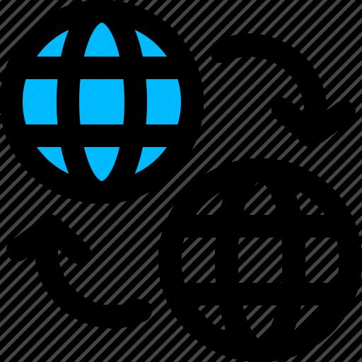 change, domain, website icon