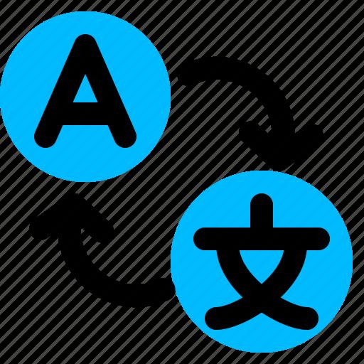 change, language, translate icon
