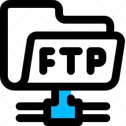 account, folder, ftp icon