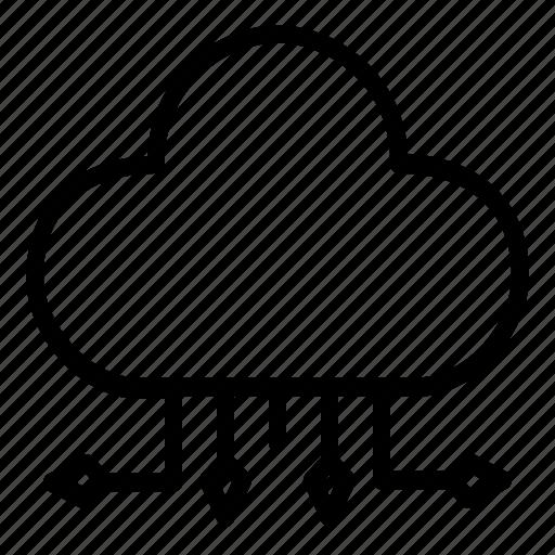 Cloud, storage, server, data, database icon - Download on Iconfinder