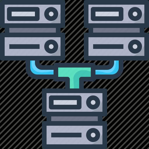 Data, database, network, networking, server, servers, storage icon - Download on Iconfinder