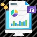 business, intelligence, data analytics, financial analytics, statistical analysis, market report, business intelligence icon