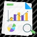 statistical, analysis, data analysis, data analytics, infographic, business analysis, market research icon