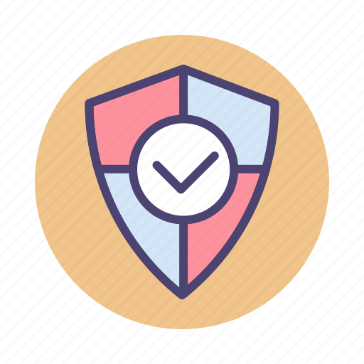 authentication, protection, secure, security, shield icon