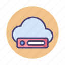 cloud, cloud drive, cloud storage, drive icon