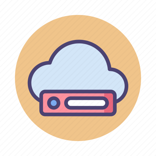 Cloud, drive, cloud drive, cloud storage icon - Download on Iconfinder