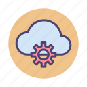 cloud, cloud architecture, cloud service, service icon