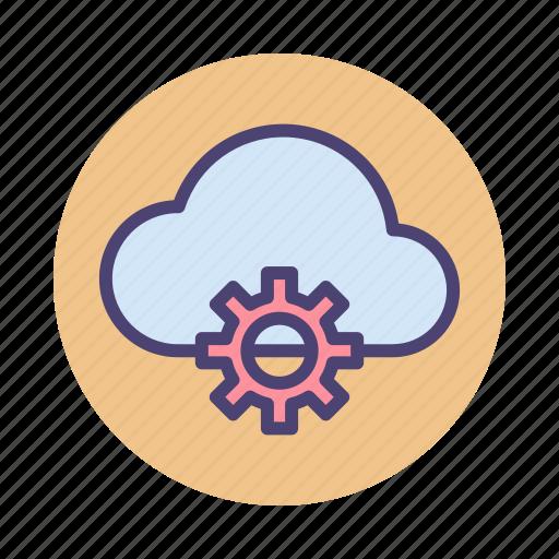 cloud, cloud architecture, cloud service, service icon
