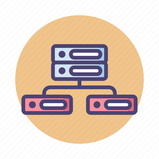 connection, database, db, hosting, server icon