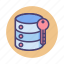 data encryption, hosting encryption, server encryption icon