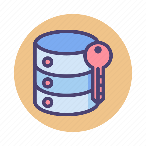 data encryption, hosting encryption, server encryption icon