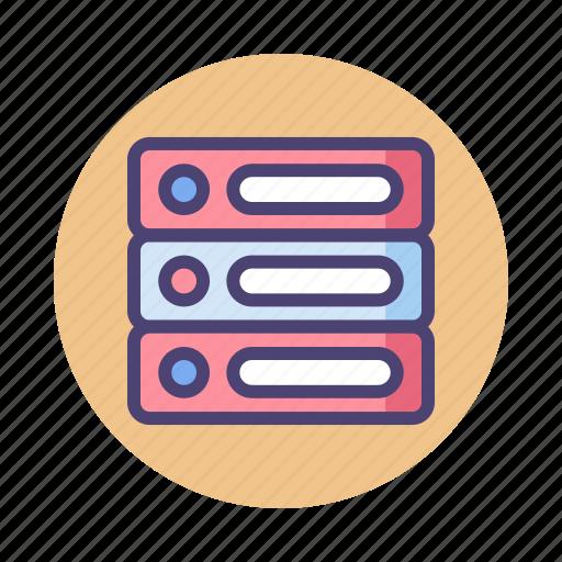 database, hosting, server, storage icon
