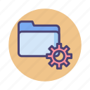 file, folder, format, system icon
