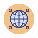 global, global network, globe, international, network icon