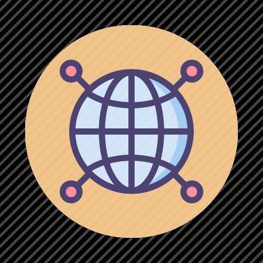 global, global network, globe, international, network icon