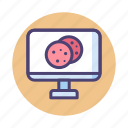 cookie, cookies, http, internet cookies, web cookies icon