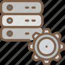 data, data storage, hosting, network, network server, options, web icon
