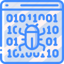 bug, data, data storage, fixing, hosting, network server, web