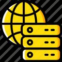 data, data storage, global, hosting, network server, services, web icon