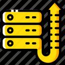 data, data storage, hosting, network server, uptime, web icon