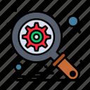 database, optimization, search icon