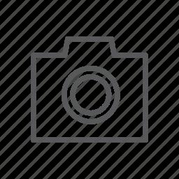 camera, computer, dslr, picture, simple icon icon