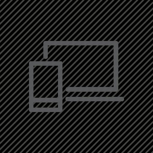 computer, device, laptop, phone, responsive, responsive web, web icon
