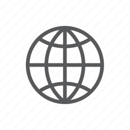 circle, computer, earth, global, language, one, world icon