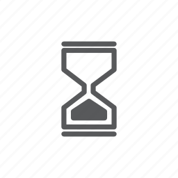blackhourglass, computer, device, hourglass, mouse pointer, wait, waiting icon