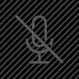 application, computer, mic, mic none, mute, none icon