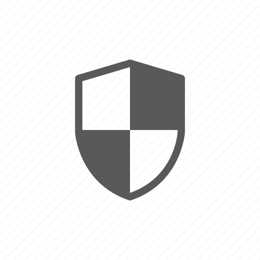 computer, safe, security, shield icon