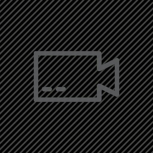 application, computer, movie, video, video camera icon