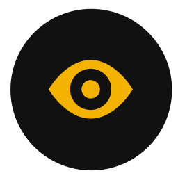 eye, find, magnifying, view, zoom icon