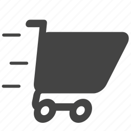 bag, business, buy, cart, commerce, ecommerce, fast icon