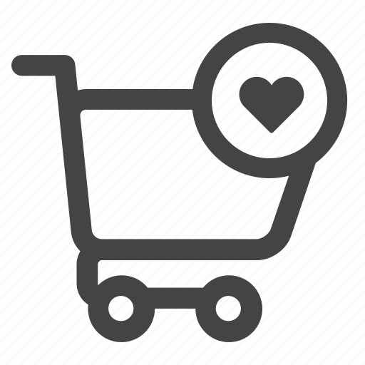 buy, cart, ecommerce, favorite, like, shopping icon