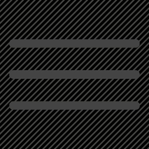 bars, list, menu, navigation icon