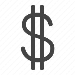 currency, dollar, money, payment, price, sign, usd icon