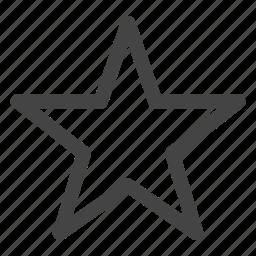 achievement, award, badge, bookmark, favorite, favorites, star icon