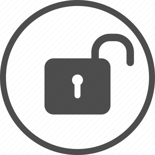 lock, open, padlock, password, protection, secure, security icon