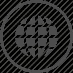 earth, globe, internet, map, world icon