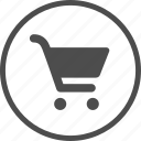 add, buy, cart, marker, market, shop, supermarket icon