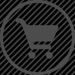 add, buy, cart, marker, market, shop, supermarket icon